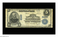 National Bank Notes:Maryland, Oakland, MD - $5 1902 Plain Back Fr. 607 The First NB Ch. # 5623. Adecent Blue Seal from this scarce western Maryland b...