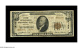 National Bank Notes:Maryland, Pocomoke City, MD - $10 1929 Ty. 2 Citizens NB Ch. # 14106. A veryscarce 14000 charter example from a bank with just ei...