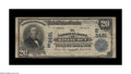 """National Bank Notes:Maryland, Rising Sun, MD - $20 1902 Plain Back Fr. 659 The NB Ch. # (E)2481.As the song goes, """"There is a house in New Orleans"""", ..."""