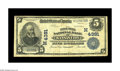 National Bank Notes:Missouri, Kansas City, MO - $5 1902 Date Back Fr. 593 The Inter-State NB Ch.# 4381. A bank which issued from both Kansas and Miss...