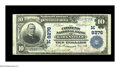 National Bank Notes:Missouri, Kirksville, MO - $10 1902 Plain Back Fr. 625 The Citizens NB Ch. #(M)8276. A far above average large example from here,...