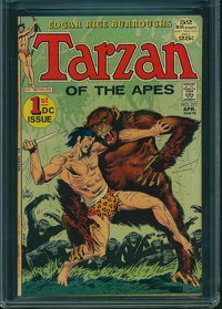 Tarzan #207 (DC, 1972) CGC FN/VF 7.0 Off-white pages