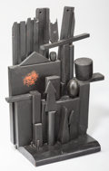 Post-War & Contemporary:Sculpture, Louise Nevelson (1899-1988). Little Mansion, circa 1955.Polychrome and ebonized wood. 32 x 25 x 11 inches (81.3 x 63.5 ...