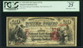San Francisco, CA - $20 1875 National Gold Bank Note White Paper Variety Fr. 1153 The First National Gold Bank
