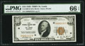Fr. 1860-H $10 1929 Federal Reserve Bank Note. PMG Gem Uncirculated 66 EPQ