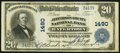 National Bank Notes:New York, Watertown, NY - $20 1902 Plain Back Fr. 650 The Jefferson County NB Ch. # 1490. ...