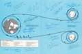 Autographs:Celebrities, Apollo Expeditions to the Moon Book Signed by Fifteen ApolloAstronauts, Including Six Moonwalkers, All with Added Mis...