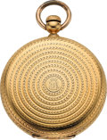 Timepieces:Pocket (pre 1900) , Patek Philippe & Co. Rare Early Gold Keyless Watch, No. 14341,circa 1859. ...
