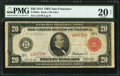 Large Size:Federal Reserve Notes, Fr. 963a $20 1914 Red Seal Federal Reserve Note PMG Very Fine 20 Net.. ...