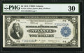 Large Size:Federal Reserve Bank Notes, Fr. 764 $2 1918 Federal Reserve Bank Note PMG Very Fine 30.. ...