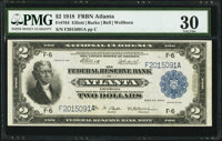 Fr. 764 $2 1918 Federal Reserve Bank Note PMG Very Fine 30