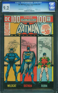 DC 100 Page Super Spectacular #14 (DC, 1973) CGC NM- 9.2 White pages