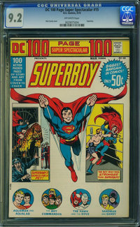 DC 100 Page Super Spectacular #15 (DC, 1973) CGC NM- 9.2 Off-white pages