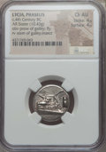 Ancients:Greek, Ancients: LYCIA. Phaselis. Ca. 4th century BC. AR stater (10.43gm). NGC Choice AU 4/5 - 4/5....