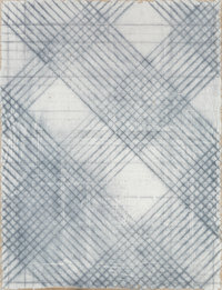 Mark Hagen (b. 1972) To Be TItled (Additive Painting #89), 2012 Acrylic on burlap over panel 68 x