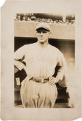 Baseball Collectibles:Photos, 1922 George Sisler Original News Photograph by George GranthamBain, PSA/DNA Type 1....