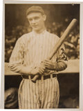 Baseball Collectibles:Photos, 1910's Rube Marquard Original News Photograph by Paul Thompson,PSA/DNA Type 1. ...