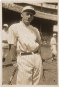 Baseball Collectibles:Photos, Circa 1920 Frankie Frisch Original News Photograph by Bain, PSA/DNAType 1. ...