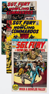 Sgt. Fury and His Howling Commandos Group of 34 (Marvel, 1967-76) Condition: Average VF.... (Total: 34 Comic Books)