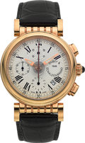 "Timepieces:Wristwatch, Dubey & Schaldenbrand ""Spiral One"" 18k Gold Automatic Chronograph. ..."