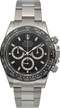 Timepieces:Wristwatch, Rolex Ref. 116500LN Oyster Perpetual Cosmograph Daytona. ...
