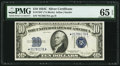 Small Size:Silver Certificates, Fr. 1704* $10 1934C Silver Certificate. PMG Gem Uncirculated 65 EPQ.. ...