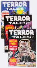 Magazines:Horror, Terror Tales (Magazine) Group of 41 (Eerie Publications, 1969-79)Condition: Average FN/VF.... (Total: 41 Comic Books)