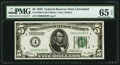 Small Size:Federal Reserve Notes, Fr. 1950-D $5 1928 Federal Reserve Note. PMG Gem Uncirculated 65 EPQ.. ...