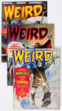 Weird Magazine Group of 15 (Eerie Publications, 1966-70) Condition: Average FN.... (Total: 15 Comic Books)