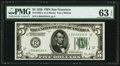 Small Size:Federal Reserve Notes, Fr. 1950-L $5 1928 Federal Reserve Note. PMG Choice Uncirculated 63 EPQ.. ...