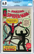 Silver Age (1956-1969):Superhero, The Amazing Spider-Man #3 (Marvel, 1963) CGC FN 6.0 Off-whitepages....