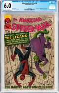 Silver Age (1956-1969):Superhero, The Amazing Spider-Man #6 (Marvel, 1963) CGC FN 6.0 Off-whitepages....