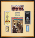 Miscellaneous Collectibles:General, 1977 Seattle Slew Triple Crown Programs & Betting Slips Lot of6....