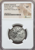 Ancients:Roman Provincial , Ancients: SYRIA. Antioch. Mark Antony as Triumvir (43-31 BC). ARtetradrachm. NGC VF....