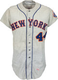 Baseball Collectibles:Uniforms, 1967 Al Schmelz Game Worn New York Mets Jersey....