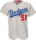 Baseball Collectibles:Uniforms, 1973 Los Angeles Dodgers Spring Training Game Worn Jersey.. ...