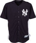 Baseball Collectibles:Uniforms, 2013 Alex Rodriguez Batting Practice Worn New York Yankees Uniform. ...