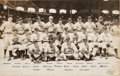 Baseball Collectibles:Photos, 1933 National League All-Star Team Original Oversized NewsPhotograph by George Burke, PSA/DNA Type 1....