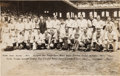 Baseball Collectibles:Photos, 1933 American League All-Star Team Original Oversized NewsPhotograph by George Burke, PSA/DNA Type 1. ...