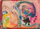 Hans Hofmann (1880-1966) Pink Phantasie, 1950 Oil on panel 14-1/4 x 20-1/4 inches (36.2 x 51.4 cm) Signed lower righ