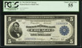 Large Size:Federal Reserve Bank Notes, Fr. 794 $5 1918 Federal Reserve Bank Note PCGS Choice About New 55.. ...