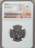 Ancients:Roman Provincial , Ancients: EGYPT. Alexandria. Marcus Aurelius (AD 161-180). BItetradrachm. NGC VF....