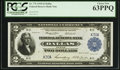 Large Size:Federal Reserve Bank Notes, Low Serial Number K30A Fr. 776 $2 1918 Federal Reserve Bank Note PCGS Choice New 63PPQ.. ...