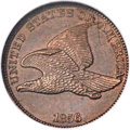 Flying Eagle Cents, 1856 1C Snow-9 PR64 NGC....