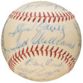 Autographs:Baseballs, 1951 Boston Red Sox Team Signed Baseball (24 Signatures). ...