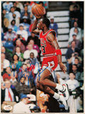 Basketball Collectibles:Photos, 1980's Michael Jordan Signed Photograph - Rare Early Signature....
