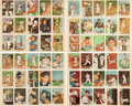 """Baseball Cards:Sets, 1959 Fleer """"Ted Williams"""" Uncut Panels (4) - Each With 15 cards. ..."""