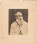Golf Collectibles:Miscellaneous, Circa 1890's Old Tom Morris Imperial Style Vintage Photograph. ...