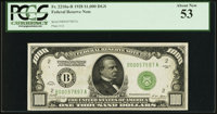 Fr. 2210-B $1,000 1928 Federal Reserve Note. PCGS About New 53