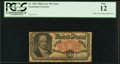 "Fractional Currency:Fifth Issue, ""K-20"" Plate Letter Engraving Error Fr. 1381 50¢ Fifth Issue PCGS Fine 12.. ..."